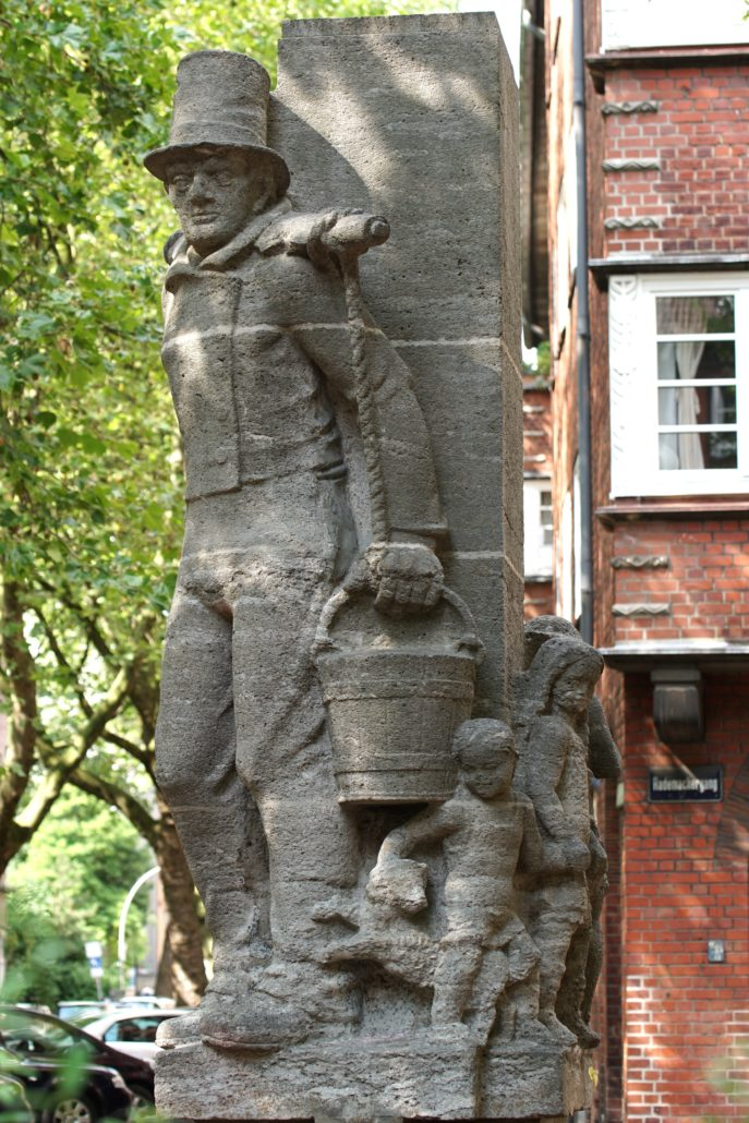 Hummelbrunnen in Hamburg Neustadt